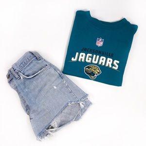 Tops - Jacksonvill Jaguars Crop Top - T shirt Crop Top